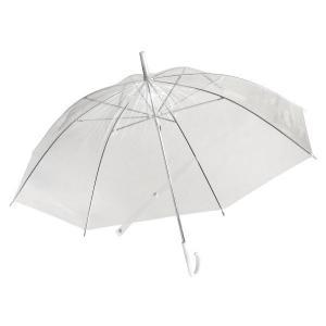 ビニール傘 透明 50cm|kawauchi