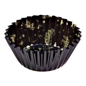 おかずカップ8号 松竹柄 黒 30枚入 底径4.5×高さ2....