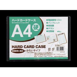 カードケース ハードタイプ A4 1枚入