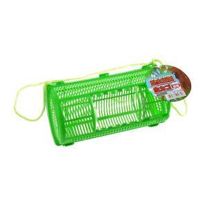 ○虫かごです。  捕まえた虫などを入れるのに最適です。  昆虫の出し入れが簡単なスライド窓が付いてお...