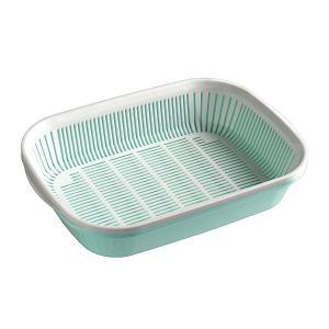 水切りバット 角型 卓上サイズ [色指定不可]の商品画像