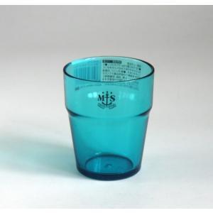 コップ スタック ブルー 210ml kawauchi