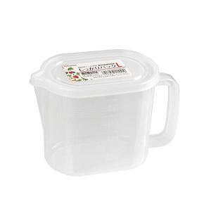 ○食品用の密閉容器です。  容量は約1Lです。  しっかりとフタができるので中身がこぼれる心配があり...