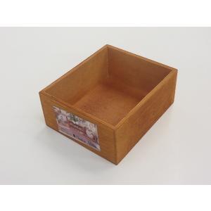 木製BOXの写真