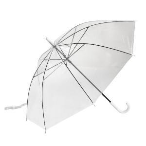 ビニール傘 透明 48cm