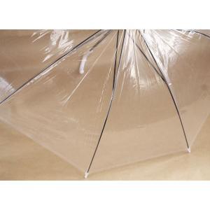 ビニール傘 透明 48cmの詳細画像3