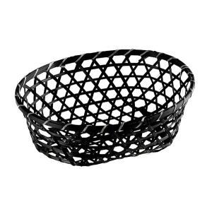 竹編みかごめバスケット小判 Lの商品画像