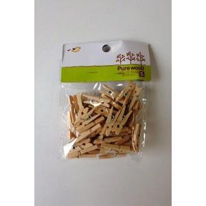 木製ピンチ(小) 50個入りの商品画像