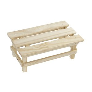 木製フラワースタンド ベンチタイプ [色形指定不可] kawauchi