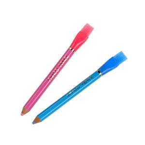 チャコペン 鉛筆型 ナイロンブラシ付 2本入
