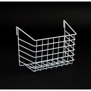 ワイヤーラック フック付 深型ワイドL(幅20.5×奥行10.5×高さ14.5cm)の写真