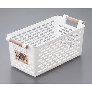 収納ボックス マルタ Lサイズ ホワイトの写真
