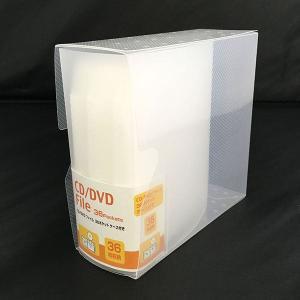 CD・DVDファイル 36ポケット 収納ケース付...