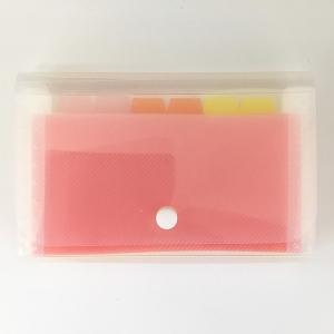○書類の分類・整理に便利な、収納ファイルです。  7ポケットです。  外寸サイズは、約11.5×18...