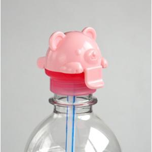 ○ペットボトル用のキャップ(ふた)です。 ○ストロー付きです。  350〜500mlのペットボトルに...