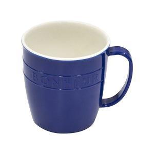 マグカップ プラスチック製 300ml ブルー ボヌール