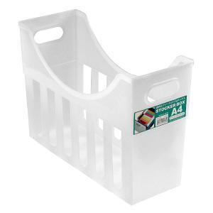 収納ボックス A4 クリアの商品画像