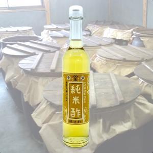 純米酢(九州産米100%) 600ml|kawazoesuzou