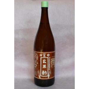 玄米酢(無農薬) 1800ml|kawazoesuzou