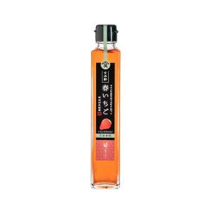 飲む玄米酢 酢らり「春いちご」 200ml 希釈用|kawazoesuzou