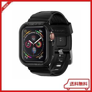 【Spigen】 Apple Watch バンド 一体型 ケース 【 Series 5 / Seri...