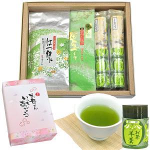 静岡の茶工場より緑茶とお茶羊羹のセットを直送 70代 80代 おじいちゃん おばあちゃんにオススメ ...