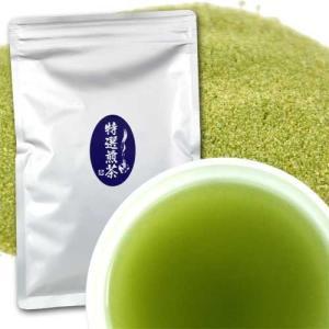 粉末 特選・煎茶  100g ※  給茶機対応 粉末茶 パウダー茶|kayamaen