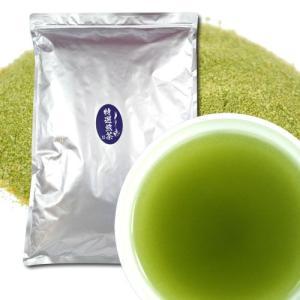 粉末 特選・煎茶  1Kg ※  給茶機対応 インスタント茶 粉末茶 パウダー茶 給茶機用|kayamaen