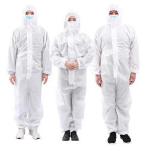 頭から足元まで 防護 作業服 作業着 飛沫  大きいサイズ|kayoiya