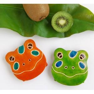 ヤンピー蛙コインパース(カエルの顔の小銭入れ お財布 アジアン)|kayseri-ya-jp