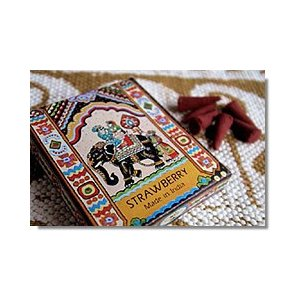コーン香(インドのお香25個入り) お香 インド エスニック アジアン kayseri-ya-jp