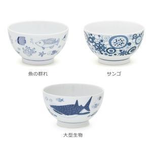 波佐見焼 食器 ナチュラル69 natural69 茶碗 おしゃれ かわいい 釣りよか 芸能人 藍 ご飯 軽い モダン 茶碗 ご飯茶碗 飯碗 夫婦茶碗 魚柄 ジンベイ kazaris