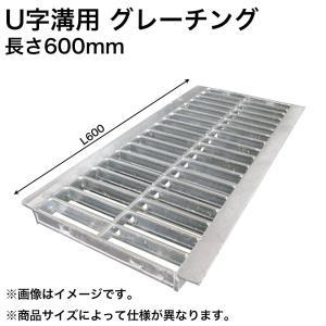 グレーチング U字溝用グレーチング みぞ幅 300mm 歩道用(長さ600mm 幅290mm 高さ19mm) HGU-300-19 L600 (代引き不可)