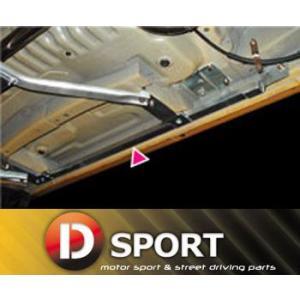 【 コペン L880K / JB-DET 用 】 Dスポーツ サイドシル補強バー [左右セット] 品番: 57400-B080 (D-SPORT)|kazoon