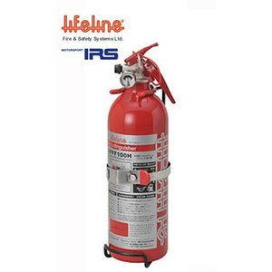 【 AFFF 1.0リットル 】 IRS ライフライン AFFF水溶性フィルムフォーム 手動式消火器 品番:AFFF100H / IRS MOTORSPORT 車両火災,防災,車輌被害用品|kazoon