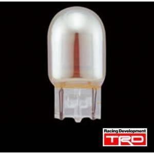 【 TOYOTA 86 (ハチロク) ZN6 / FA20 用 】 TRD リヤ ウィンカーバルブ 2個1セット (シルバーコーティング/オレンジ光) 品番: MS402-00006 (TRD) kazoon