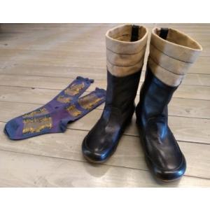 O'HOVE DE MUSEE レディース シューズ ブーツ 黒 新古品 未使用品 美品 22.5cm|kazuin