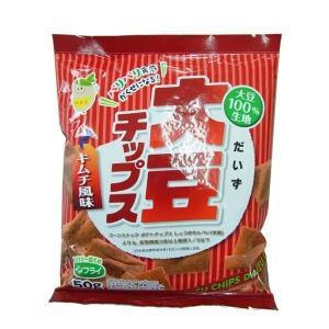 ノンフライ!  大豆チップス キムチ 50g×10袋セット|kazukobo-vip