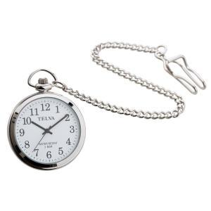 懐中時計 アナログウォッチ TE-AM153-WTS|kazukobo-vip