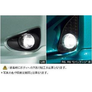 トヨタ純正 LEDフォグランプ ヴィッツ 130系|kazz