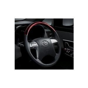 トヨタ純正 ウッド調ステアリング マークXジオ 10系後期|kazz