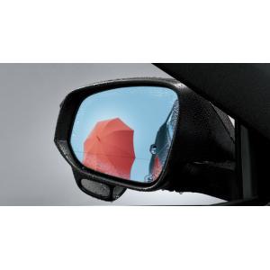 トヨタ純正 レインクリアリングブルーミラー ハリアー 60系|kazz