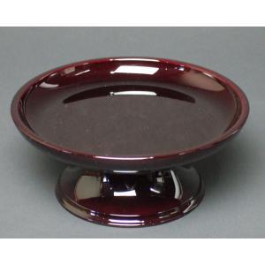 仏具 丸供物台 タメ色  3,5寸|kb-hayashi