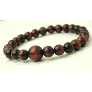 数珠 念珠 腕輪数珠 ブレス 赤虎目石 7mm kb-hayashi