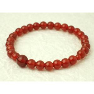 数珠 念珠 腕輪数珠 ブレス  瑪瑙 めのう  6mm kb-hayashi