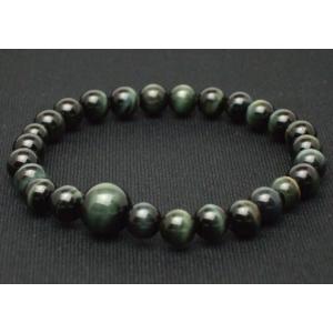数珠 念珠 腕輪数珠 ブレス  青虎目石 7mm kb-hayashi