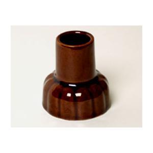 お墓参り用品 墓用線香立  茶|kb-hayashi