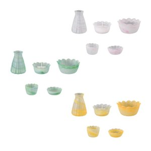 仏具セット ガラス仏具 サンシャイン5点セット 3寸 仏壇 仏具|kb-hayashi