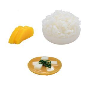 仏具 略式仏膳用 お供え料理セット 6.5寸用 仏壇 お膳 霊供膳 おかず ごはん 食品サンプル|kb-hayashi