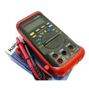 Kaise カイセ デジタルマルチメーター/レッド KU-2600R|kb1tools-1